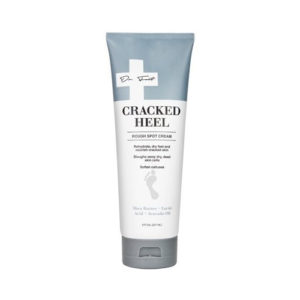 Dr. Foot Cracked Heel Cream. Cream for cracked heels, rough spots, and dry feet. 8oz tube.